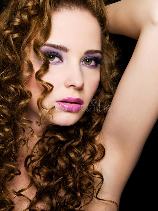 Download Beautiful  Woman With Beauty Hairs Stock Images - Image: 14001834