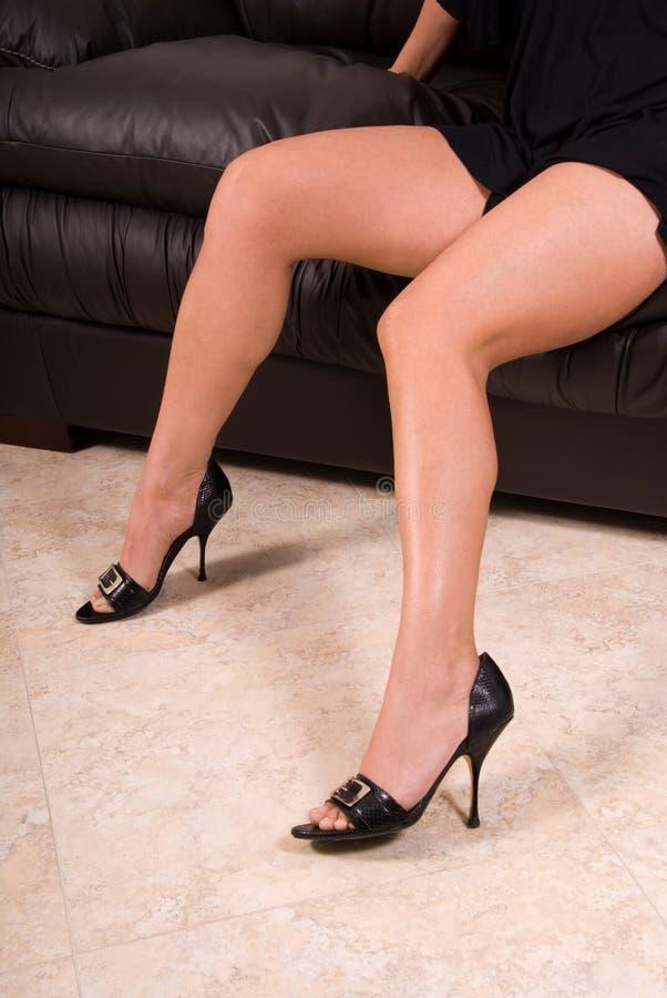 Sexy benen stock fotografie