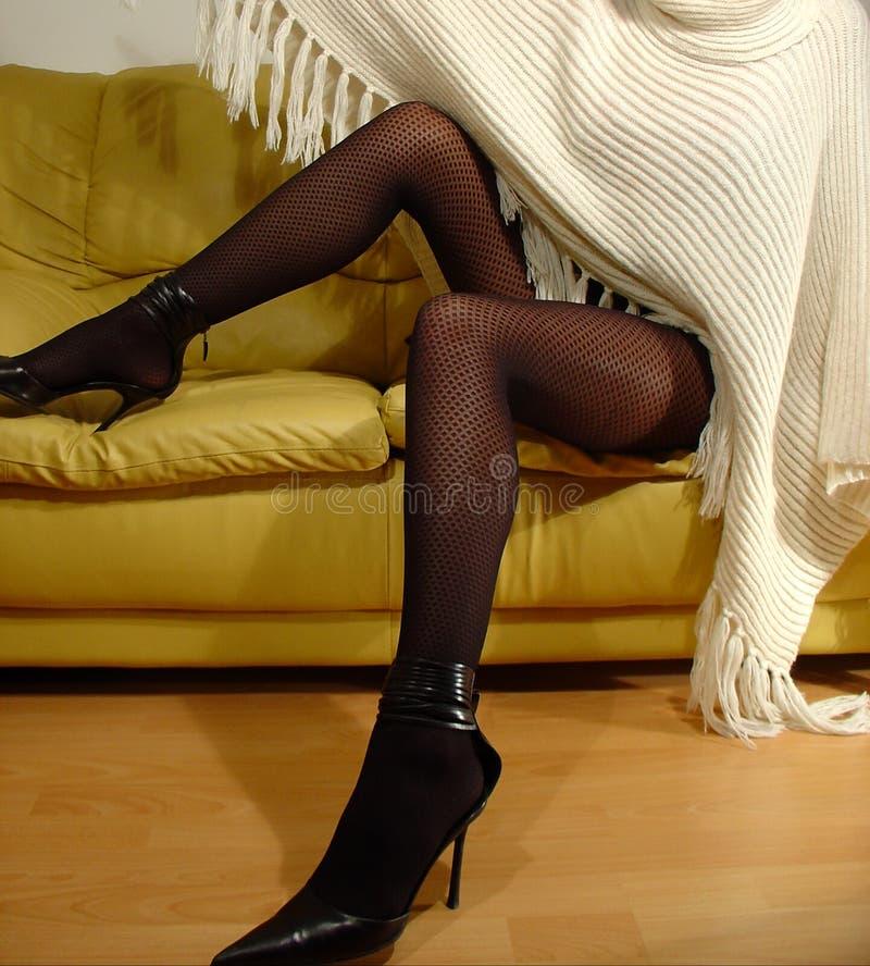 Download Sexy Benen stock afbeelding. Afbeelding bestaande uit zwart - 79789