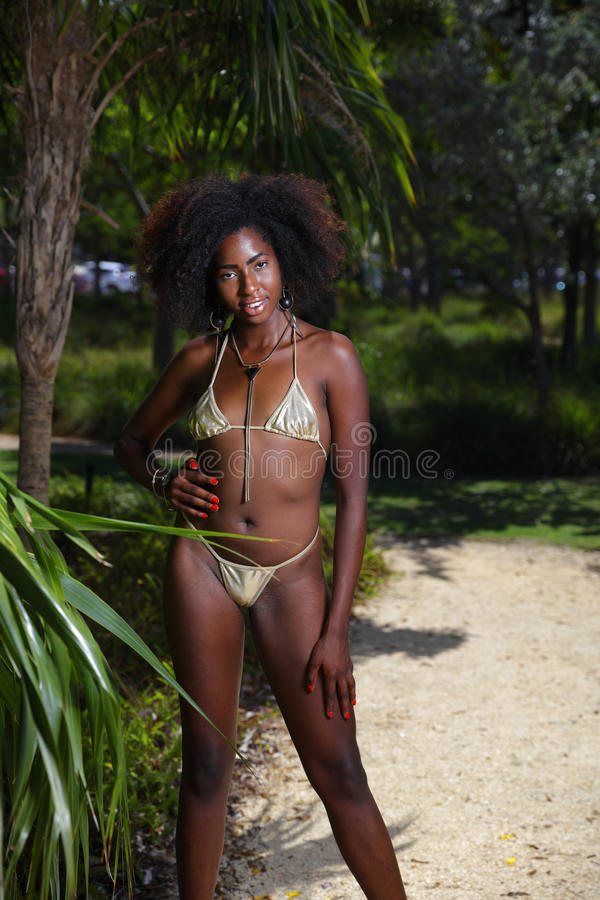 African black bikini models consider, that