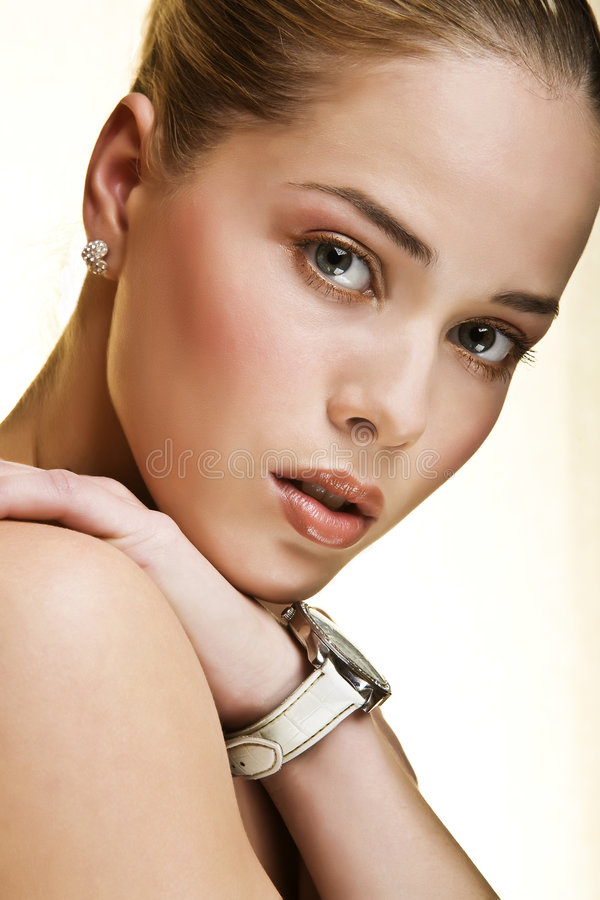 Download Blond stock image. Image of fashion, blond, female, face - 4965967