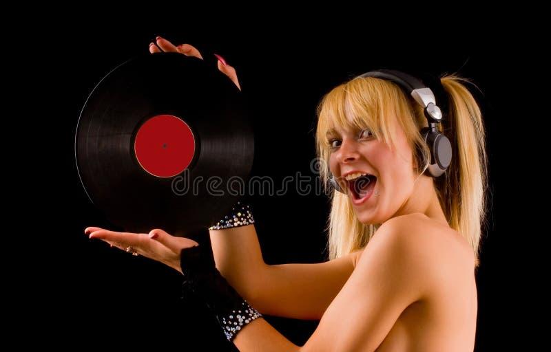 Sexy blond royalty-vrije stock fotografie