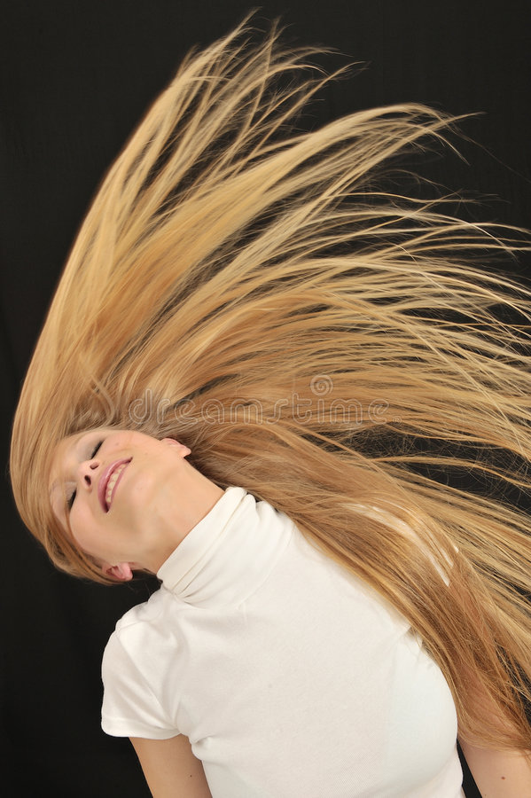 blond long hair teen age girl stock photos