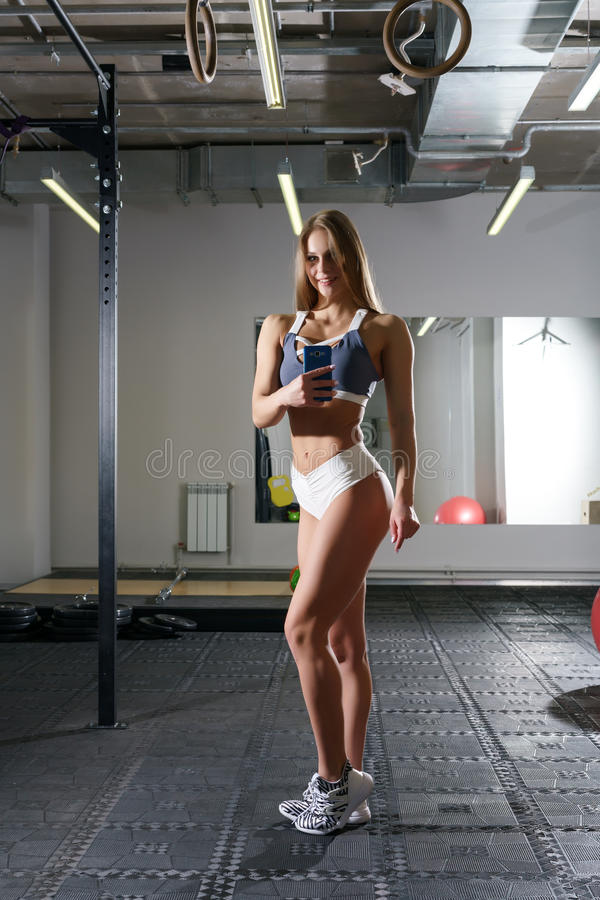 Like female fitness instructor blonde shorts griffin softcore
