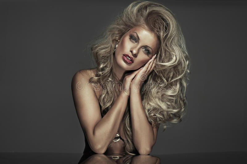 Download Marvelous Blonde Woman With Great Complexion Stock Image - Image: 29784863