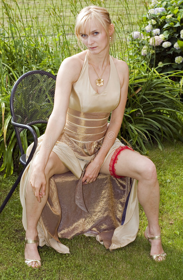 Sexy bruid stock foto