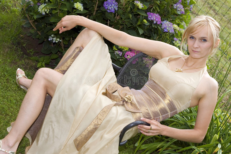 Sexy bruid stock fotografie
