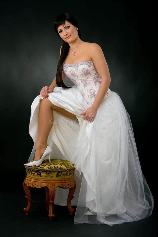 Sexy bruid stock afbeeldingen