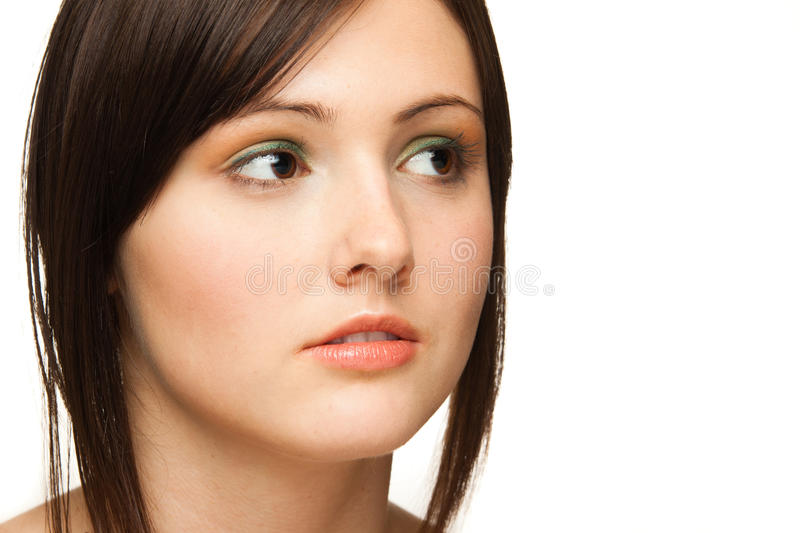 Download Caucasian woman stock photo. Image of charming, isolated - 22632124