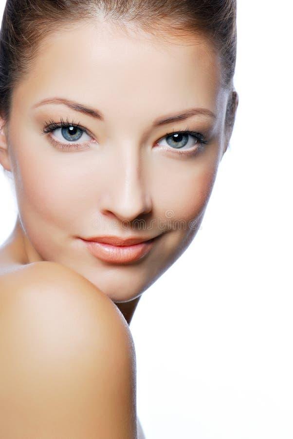 caucasian woman royalty free stock image