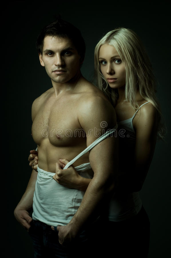 Download Couple stock image. Image of athletic, cute, impassioned - 19165921