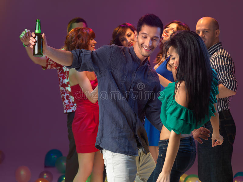 Download Couple Dancing In Night Club Stock Image - Image: 27161007
