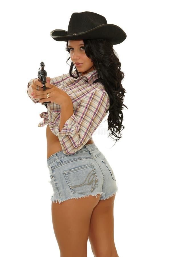 Sexy Cowgirl lizenzfreies stockfoto