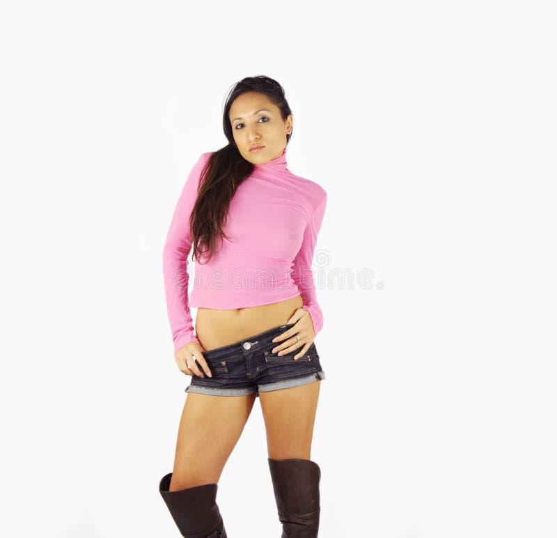 Sexy dansvrouw stock foto's