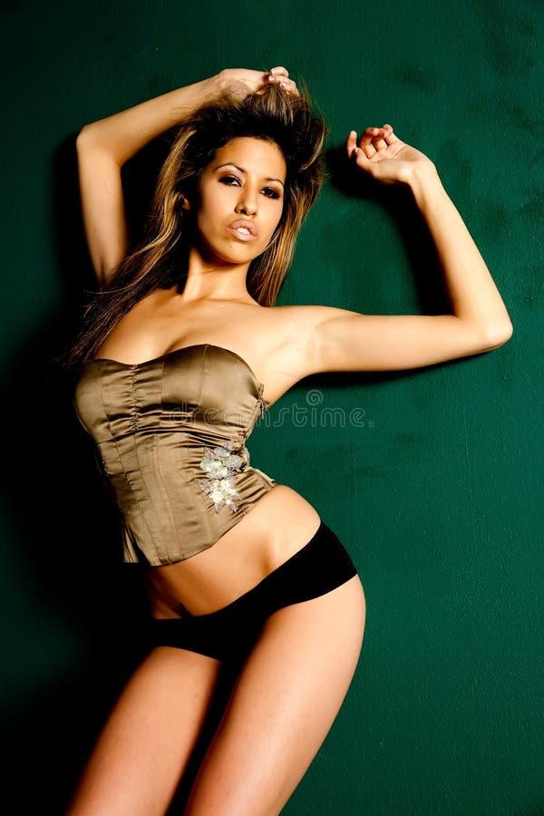 Sexy dun Latina meisje royalty-vrije stock foto