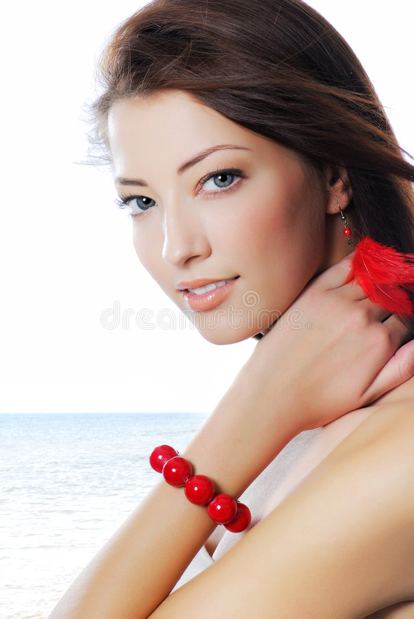 Download Eyes stock photo. Image of jewelry, beach, adult, caucasian - 7977782