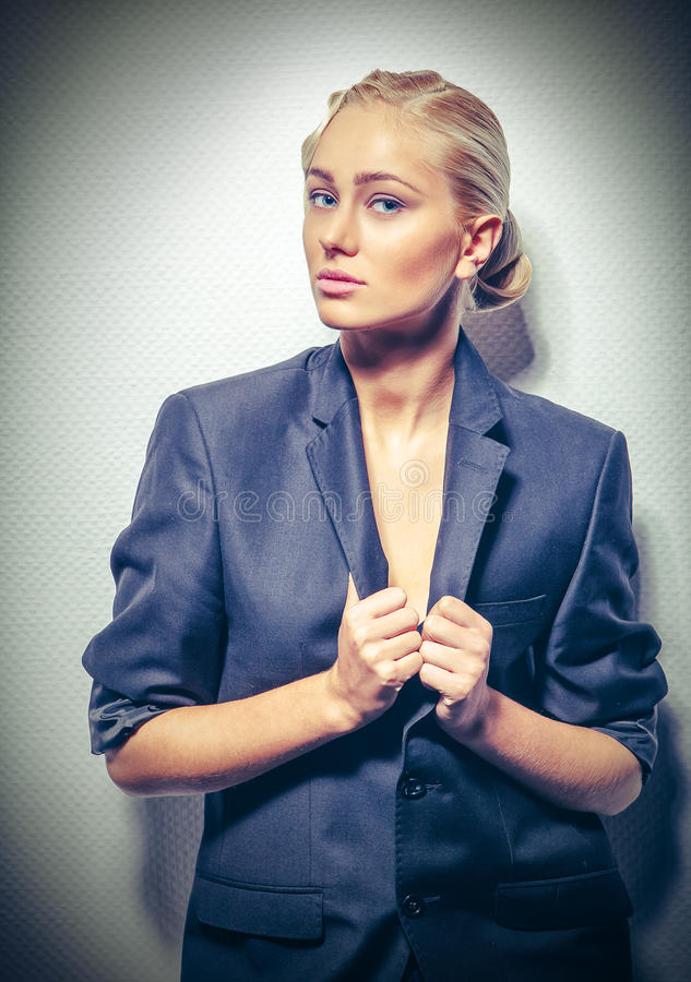 fashion girl. stock images