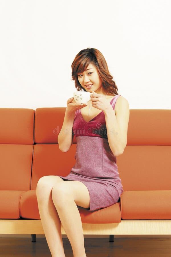 Female model. Asian Ethnicity stock photo