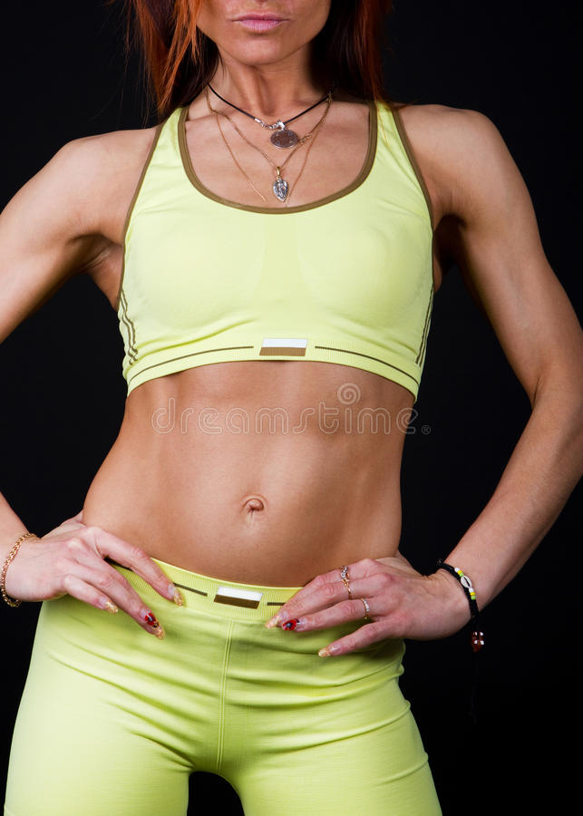 Download Female's body stock photo. Image of isolated, haired - 14512972