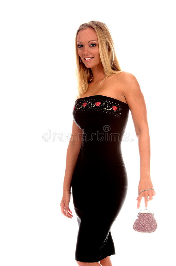 Formal Woman stock image
