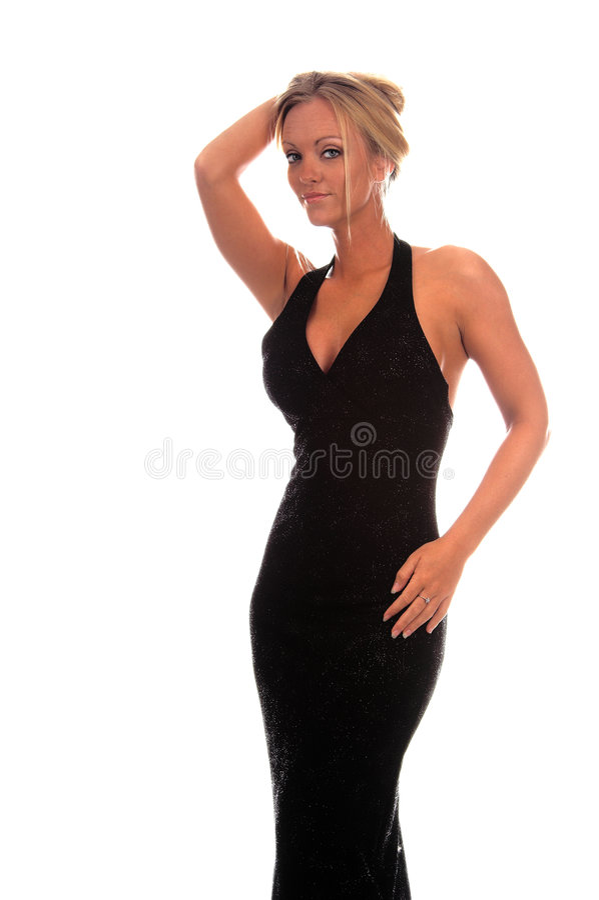 Formal Woman stock image