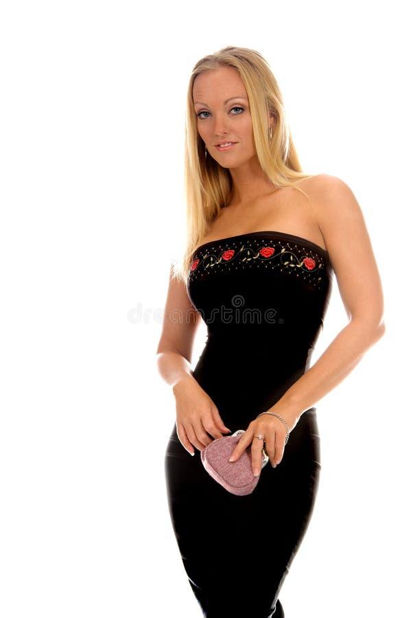 Sexy Formele Vrouw royalty-vrije stock foto