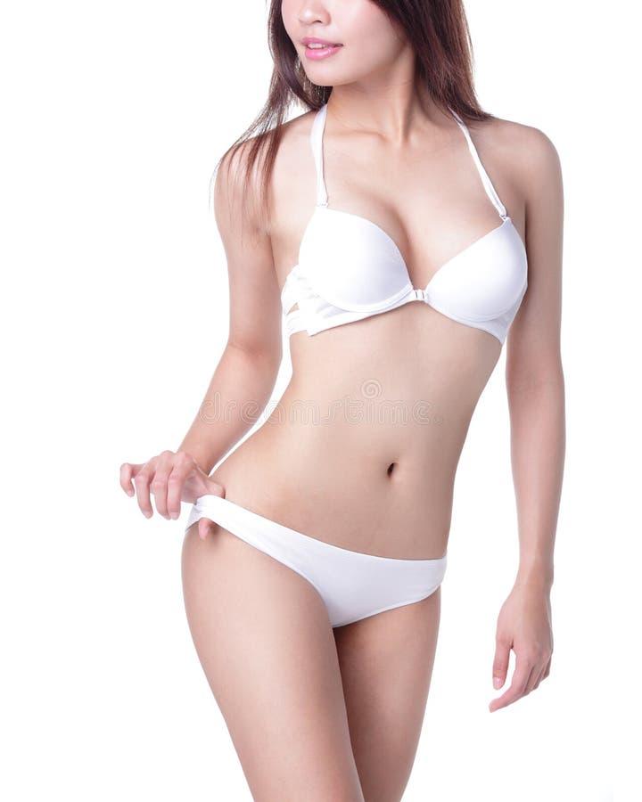Sexy Frauenkörper lizenzfreies stockfoto