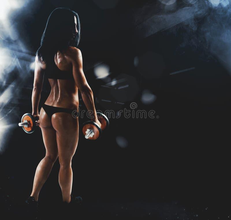 Sexy Frauentraining lizenzfreie stockfotos