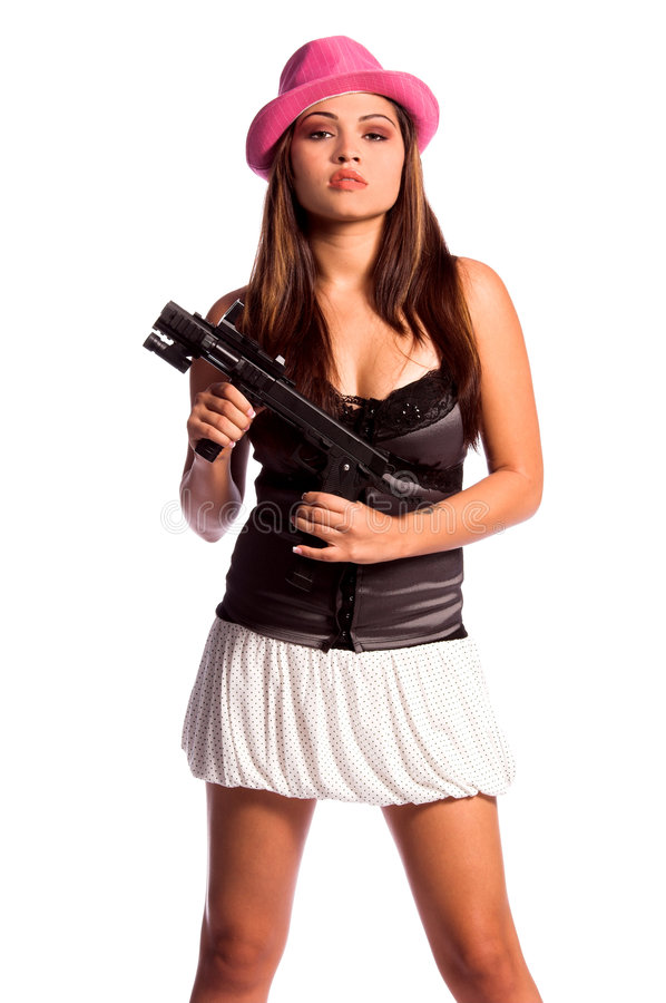 Gangster Girl stock photography