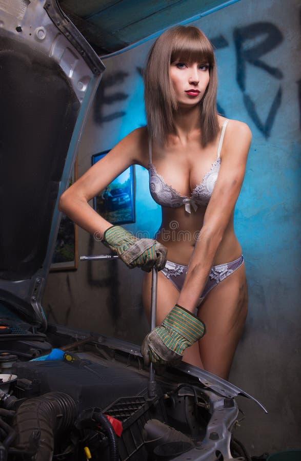 hot computer repair girl