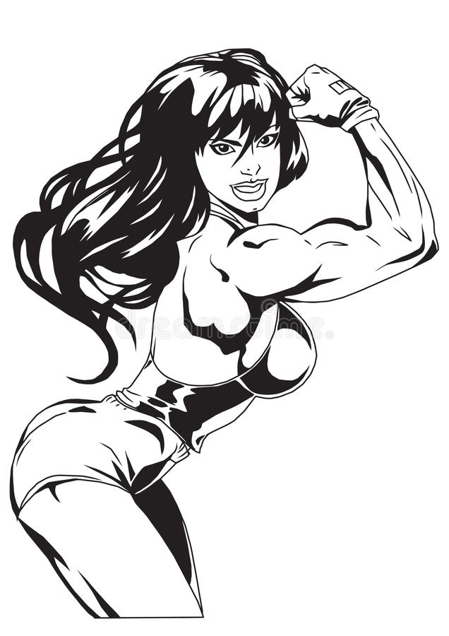 girl stock illustration
