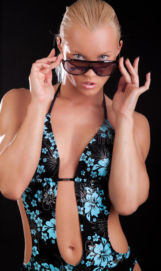 Download Girl in sweamsuit stock photo. Image of beautiful, look - 15483216