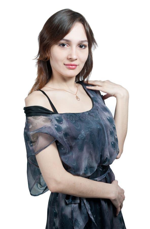 Download Girl in transparent dress stock photo. Image of elegance - 19727440