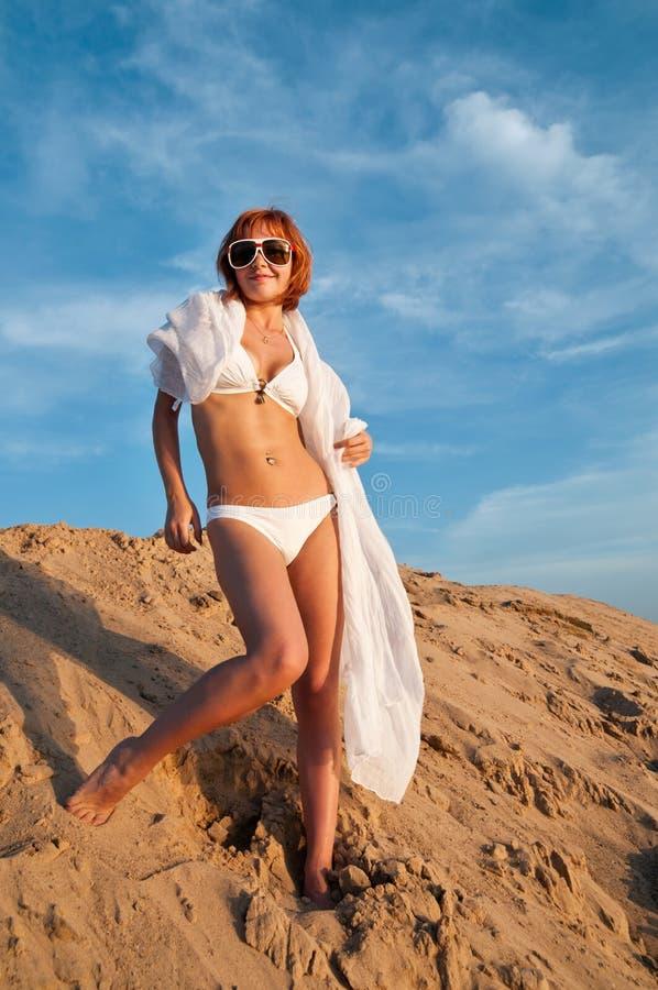Sexy girl wearing bikini