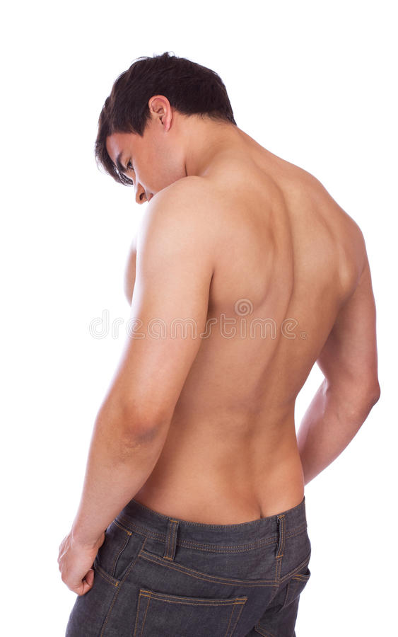 Download Guy from behind stock photo. Image of chill, flirt, color - 19392564