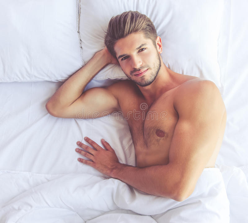 Sexy jonge mens