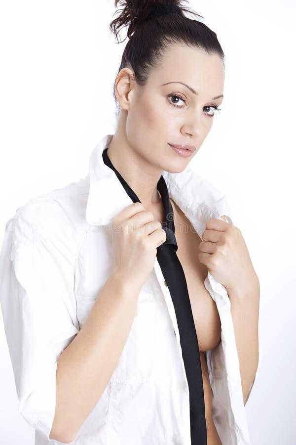 Sexy jonge vrouw stock fotografie