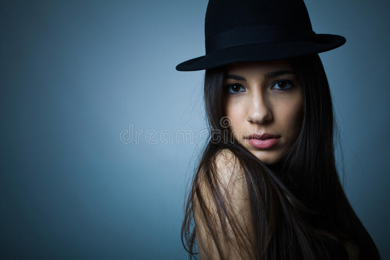 Sexy jonge vrouw royalty-vrije stock afbeelding