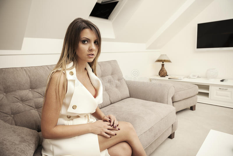 Sexy jonge vrouwen royalty-vrije stock foto's