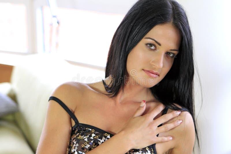 Sexy junge Frau lizenzfreie stockfotografie