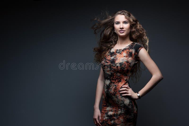 Sexy Modemädchen stockfoto