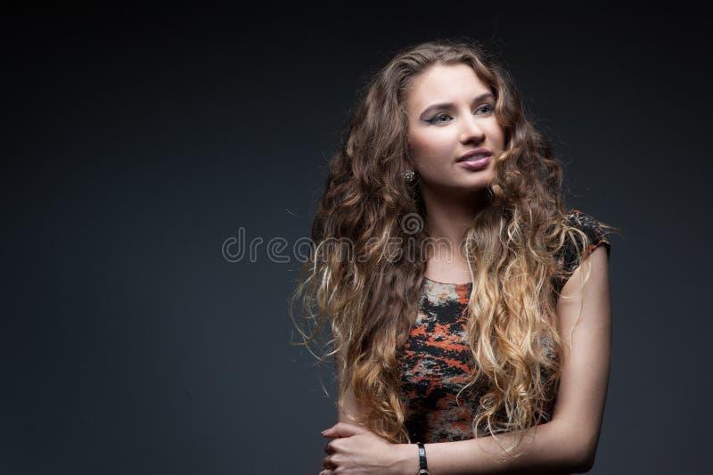 Sexy Modemädchen lizenzfreie stockfotografie