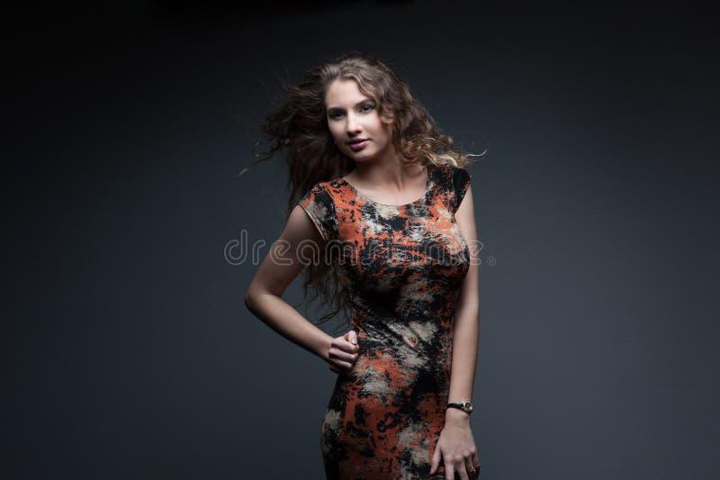 Sexy Modemädchen stockfotos