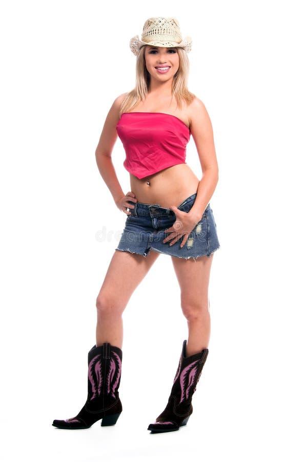 sexy kowbojka obrazy royalty free
