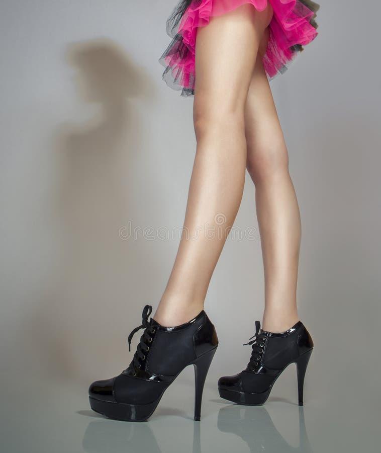 Sexy lange benen stock foto's