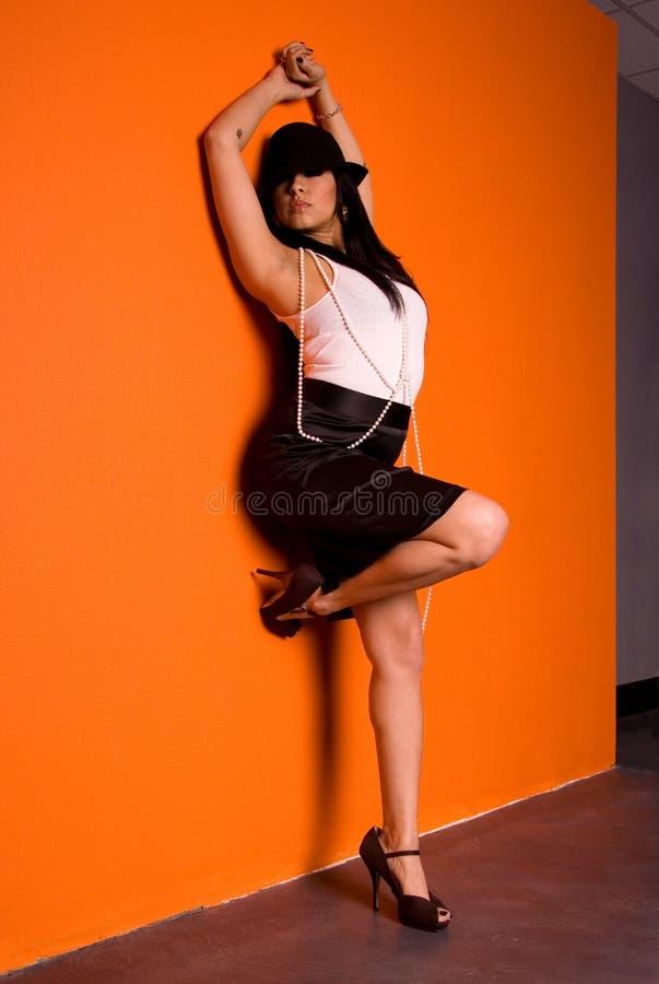 Sexy Latina. royalty-vrije stock foto's