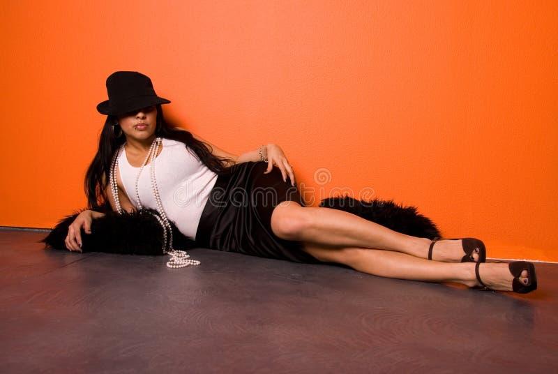 Sexy Latina royalty-vrije stock foto