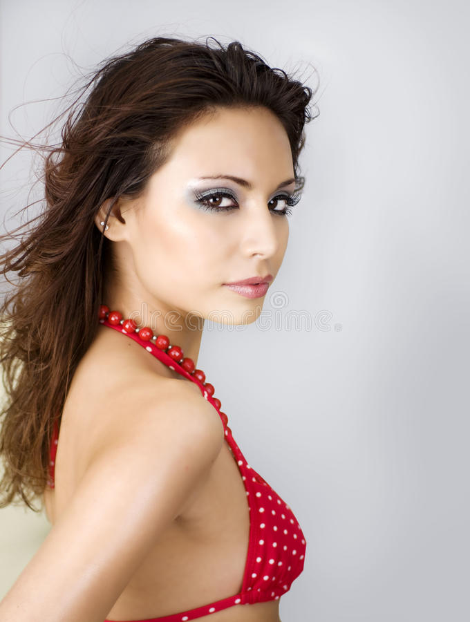 latino young woman royalty free stock images