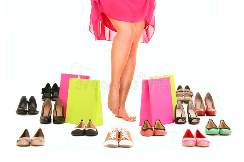 Download Legs stock photo. Image of feet, gift, sale, buying, barefoot - 23545992