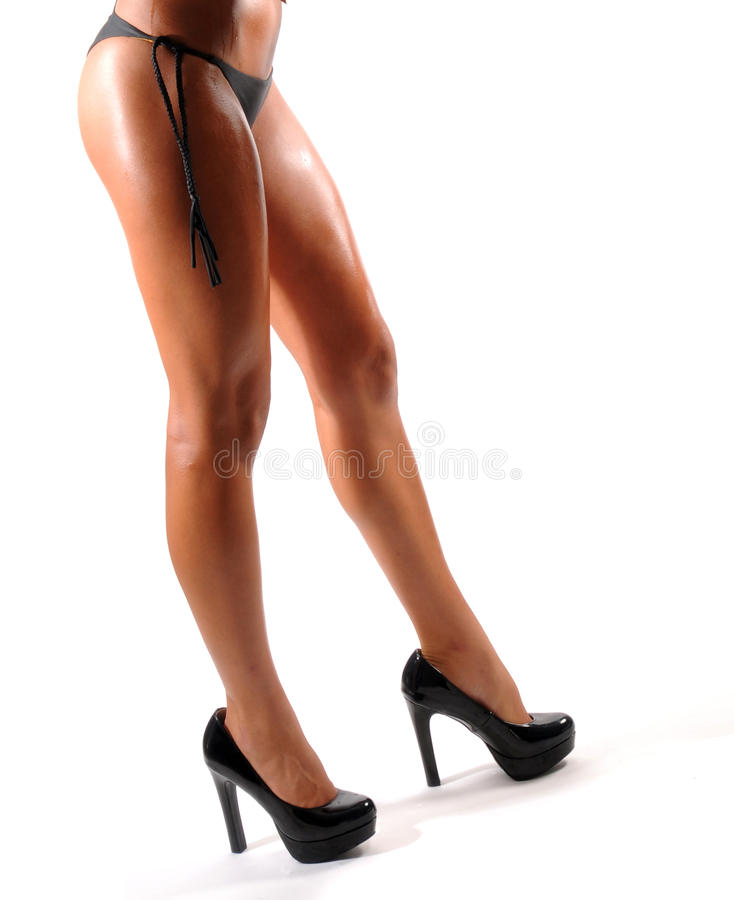 Download Legs stock photo. Image of tanned, shape, high, underwear - 25104186